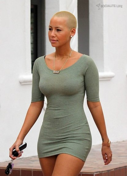 Amber rose white girl