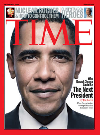 Barack Obama on the Cover of Time