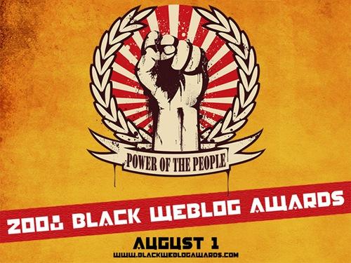 black webblog awards