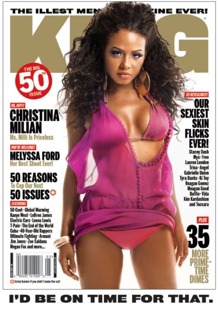 Christina Milian King Magazine