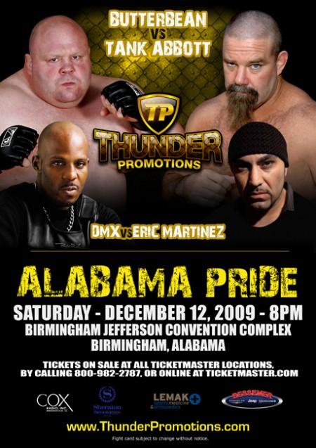 DMX UFC fighter