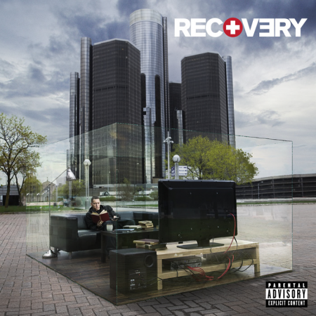 Eminem Recovery Cover Art