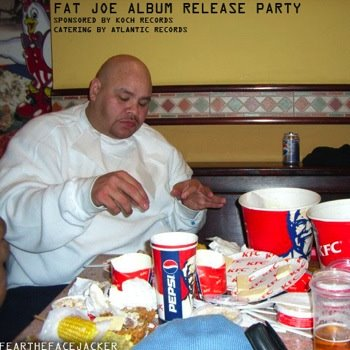 Fat Joe Eating KFC