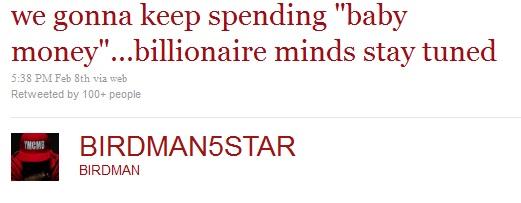 Jay-Z Baby Money Birdman