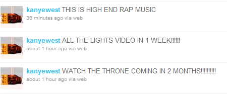 Kanye West All of the Lights Video