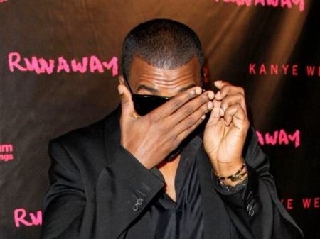 Kanye West Eyes Closed