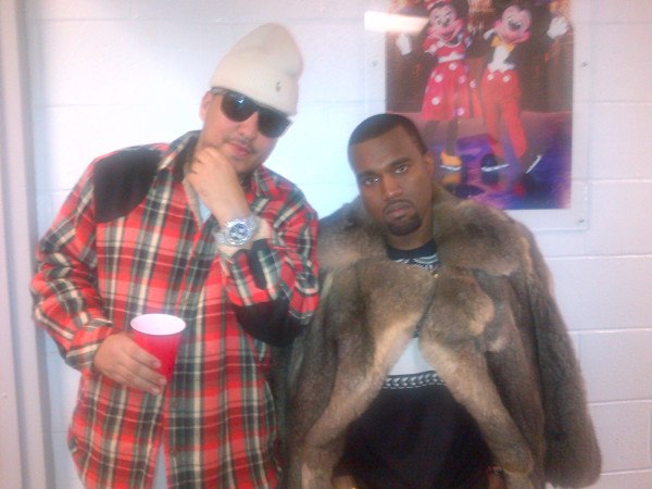 Kanye West signs French Montana?
