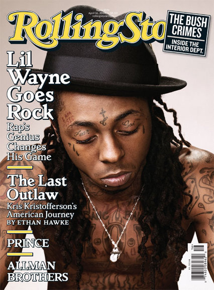 Lil Wayne Rolling Stone cover