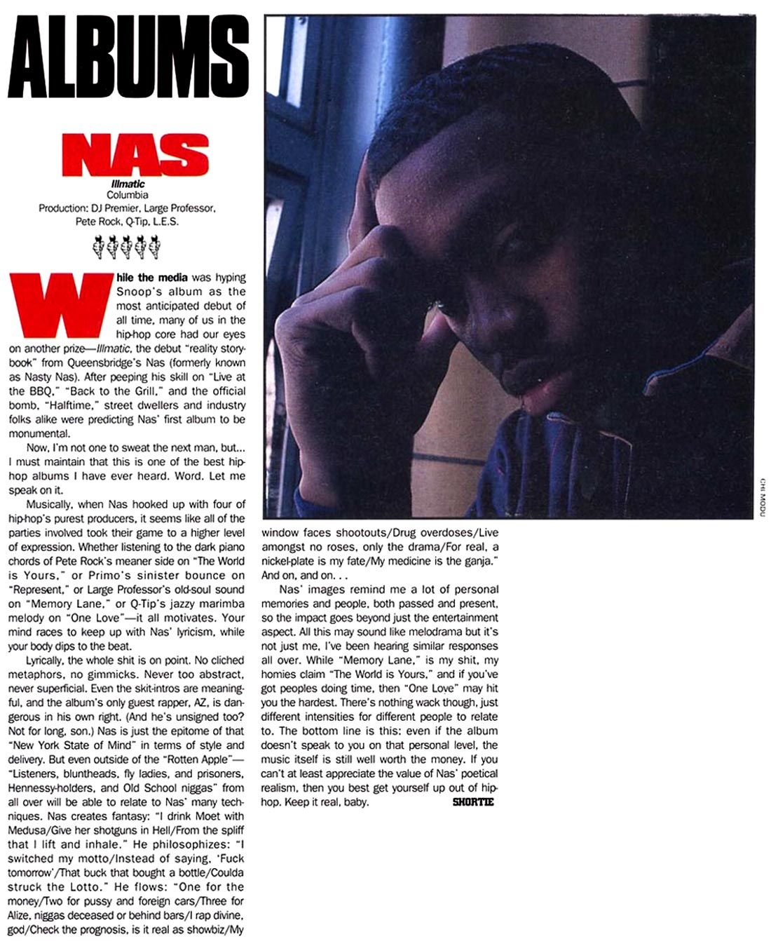Nas Illmatic Source Review