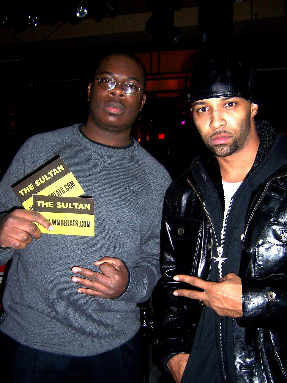 WMS The Sultan and Joe Budden