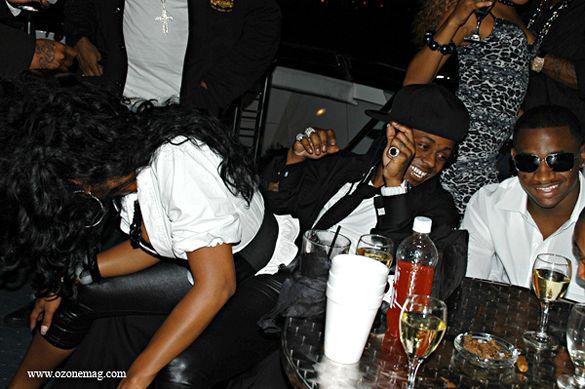Lil Wayne Birthday Party