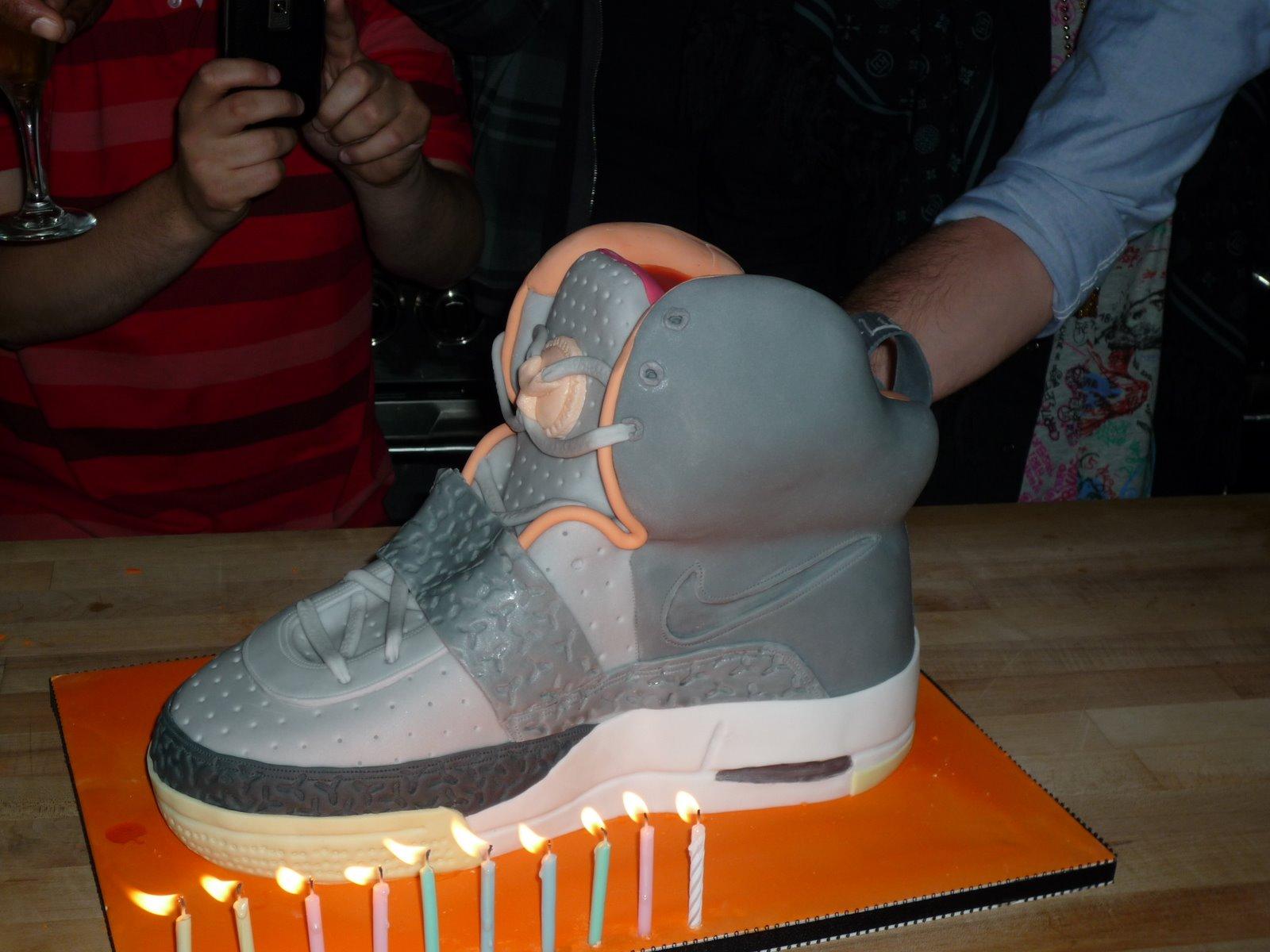 Yeezy Cake