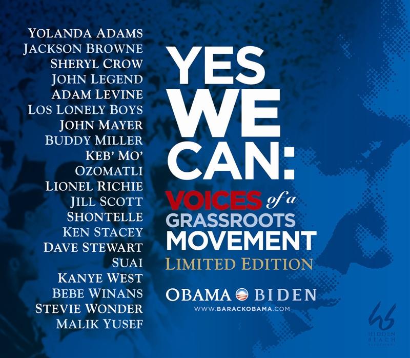 Yes We Can Barack Obama CD