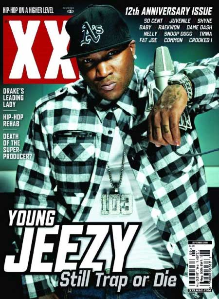 Young Jeezy XXL cover