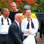 Jay-Z and Justin Timberlake on Suit and Tie Set