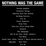 "Drake ""Nothing Was The Same"" Tracklist"
