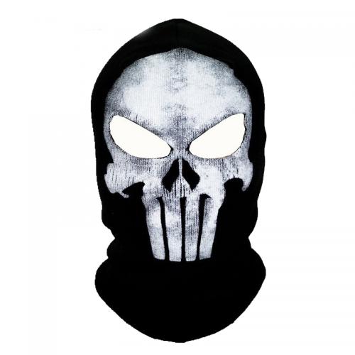 Skull face ski mask